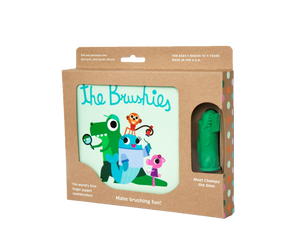 Chomps the Dino and The Brushies Book