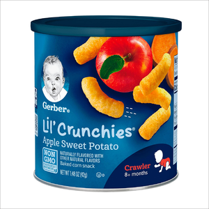 Lil' Crunchies | Apple and Sweet Potato