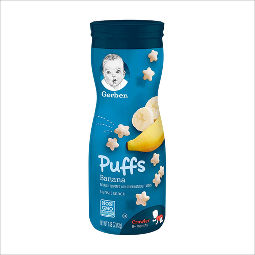 Puffs Cereal Snack | Banana