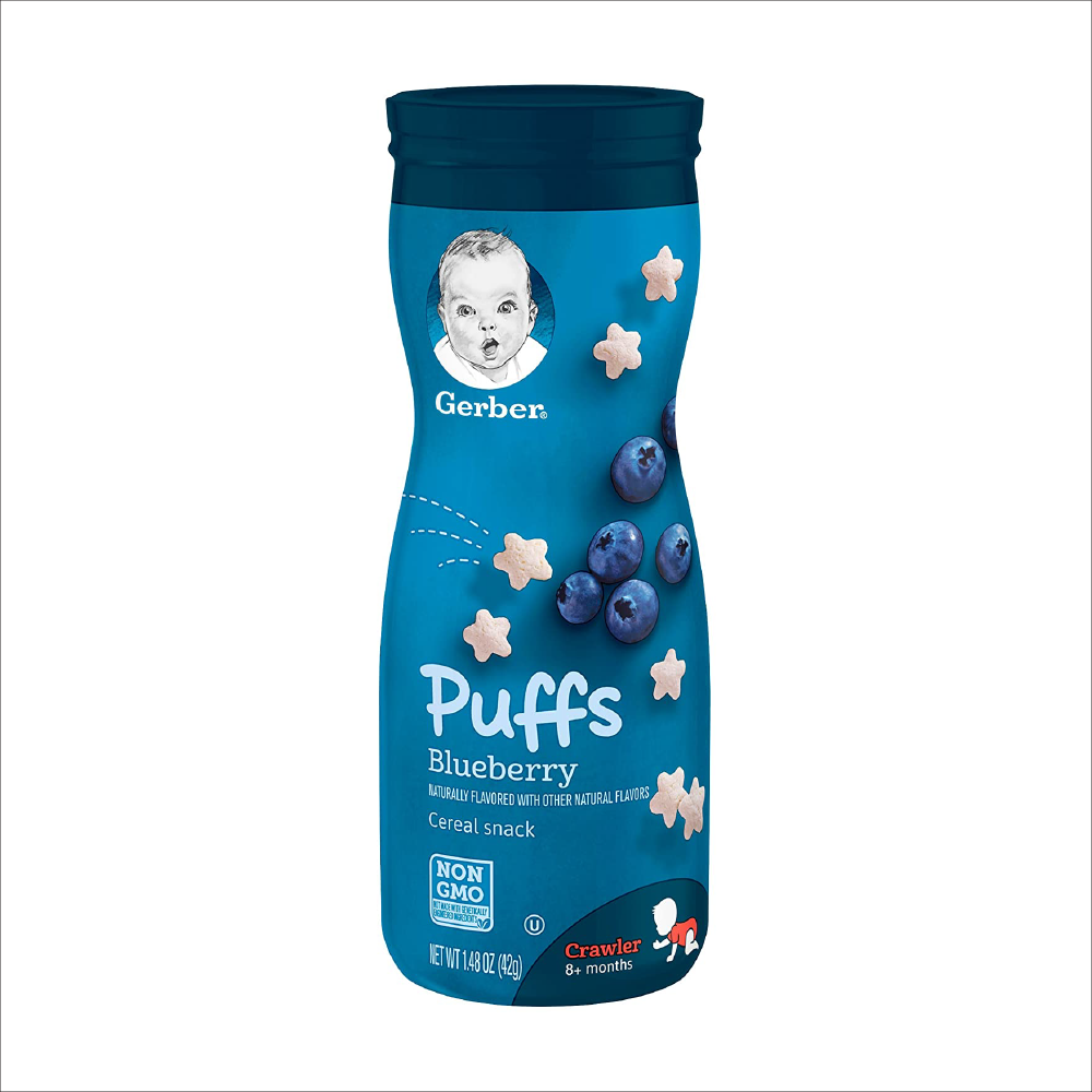 Puffs Cereal Snack | Blueberry