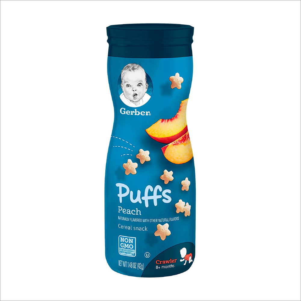 Puffs Cereal Snack | Peach