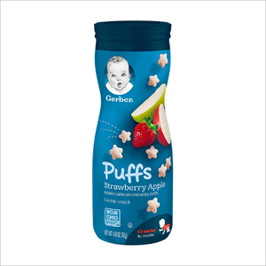 Puffs Cereal Snack | Strawberry Apple