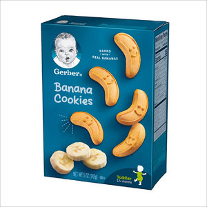 Toddler Banana Cookies