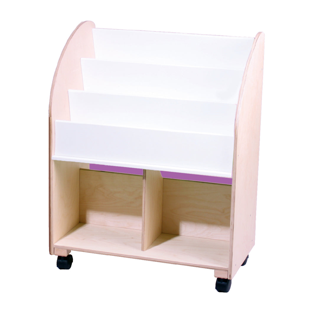 Kid's Wooden Bookshelf