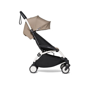 Stroller Frame with 6+ Pack - Taupe