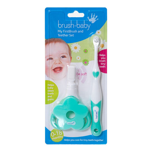 FirstBrush & Teether - Teal