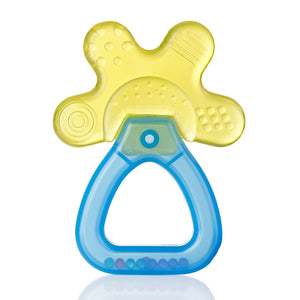 Cool&Calm Rattle Teether (4+months) - Yellow/Blue