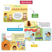 Load image into Gallery viewer, Ted's Senses - Set of 5 Illustrative Storybooks