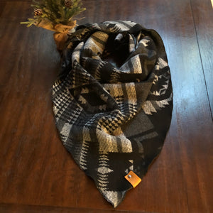 Kira Collection-Grey Human Scarf