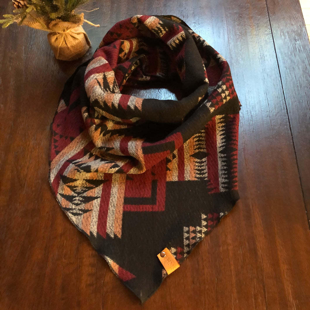 Grace Collection-Red Human Scarf