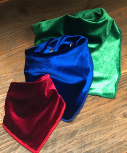 Velvet Collection Limited Addition - Adjustable Pet Bandana