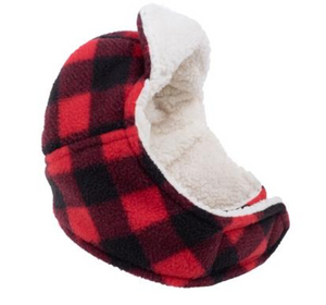 Aviator Hat Red Buffalo Fleece