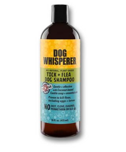 Dog Whisperer Tick and Flea Shampoo Organics - 16 oz