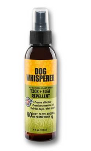 Dog Whisperer Tick and Flea Repellent - 4 oz+