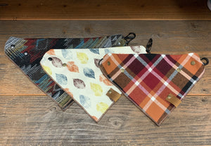 Fall Collection Adjustable Pet Bandanas