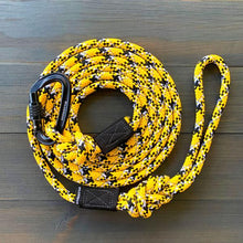 Load image into Gallery viewer, Gold Reflective Leash (5 ft)