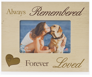 Sympathy, Loss and Love Vertical Picture Frame
