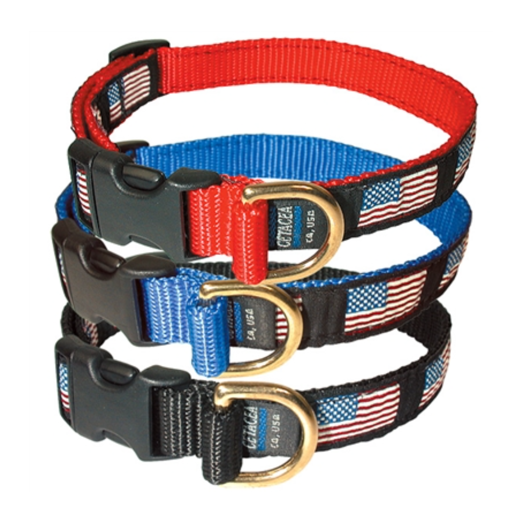 U.S.A. Flag Dog Collar