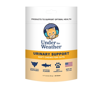 Cat Urinary Support Soft Chews by Under the Weather