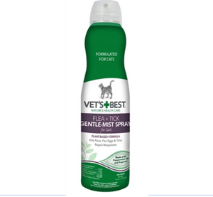 Natural Flea + Tick Gentle-Mist Spray for Cats