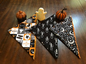 Halloween Adjustable Bandana-Glow in the dark