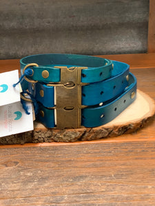 Rural Roots-Hand Crafted Leather Adjustable Collar