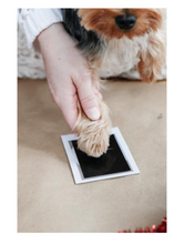 Load image into Gallery viewer, Pet Paw Print Clean Touch Ink Pad and Imprint Cards, Perfect for Cats or Dogs, Black