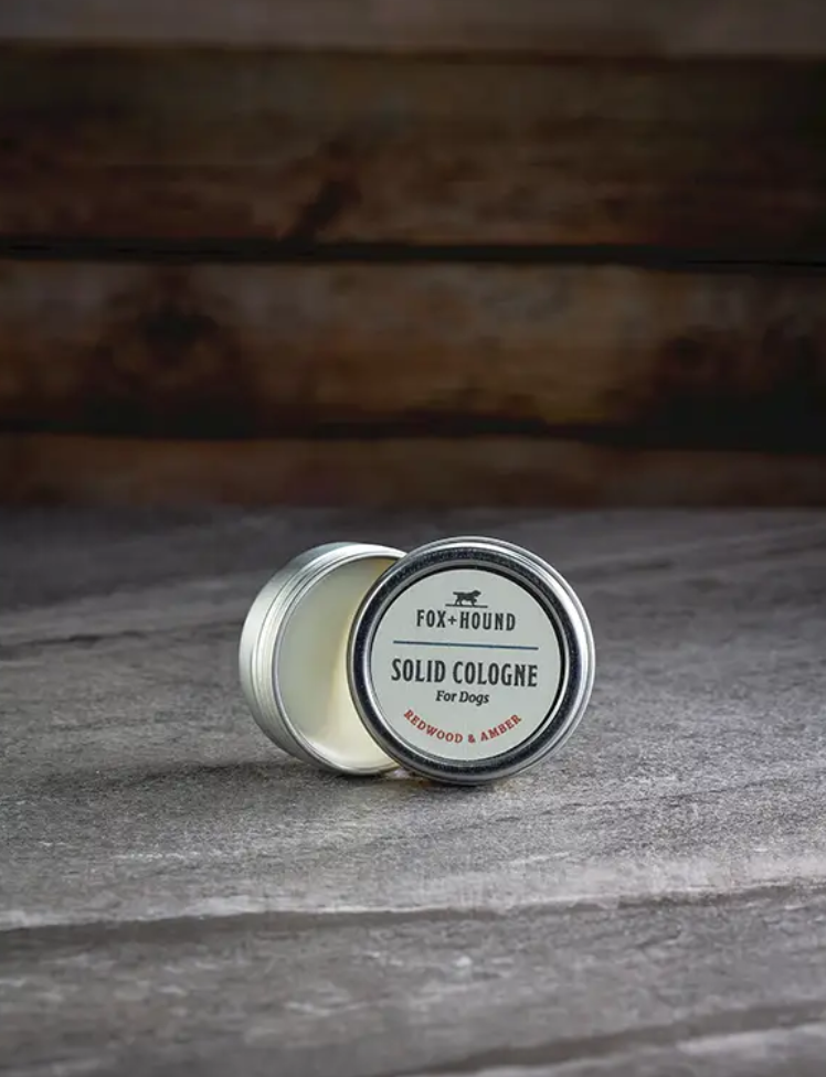 Solid Cologne - Redwood and Amber
