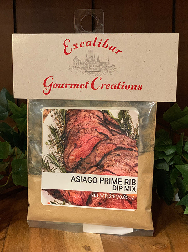 Asiago Prime Rib Dip Mix