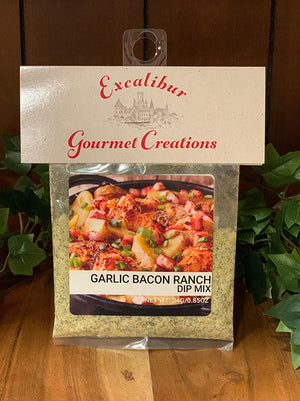 Garlic Bacon Ranch Dip Mix