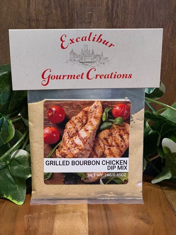 Grilled Bourbon Chicken Dip Mix