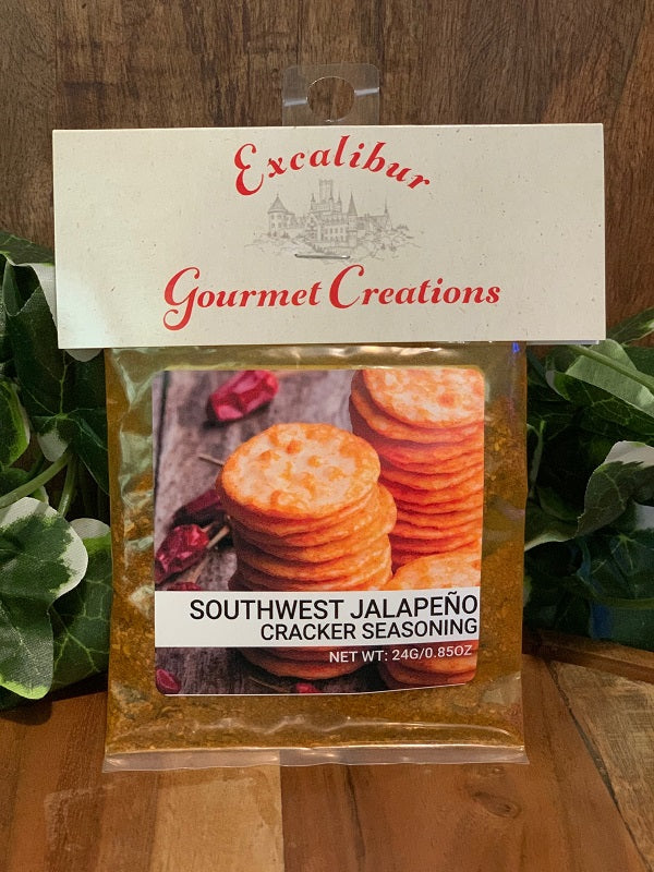 Southwest Jalapeño Cracker Seasoning