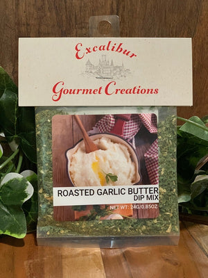 Roasted Garlic Butter Dip Mix