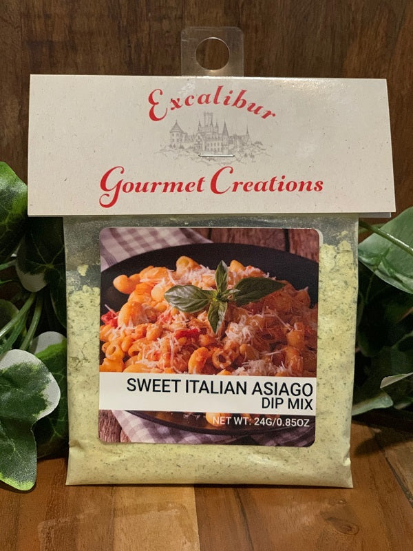 Sweet Italian Asiago Dip Mix