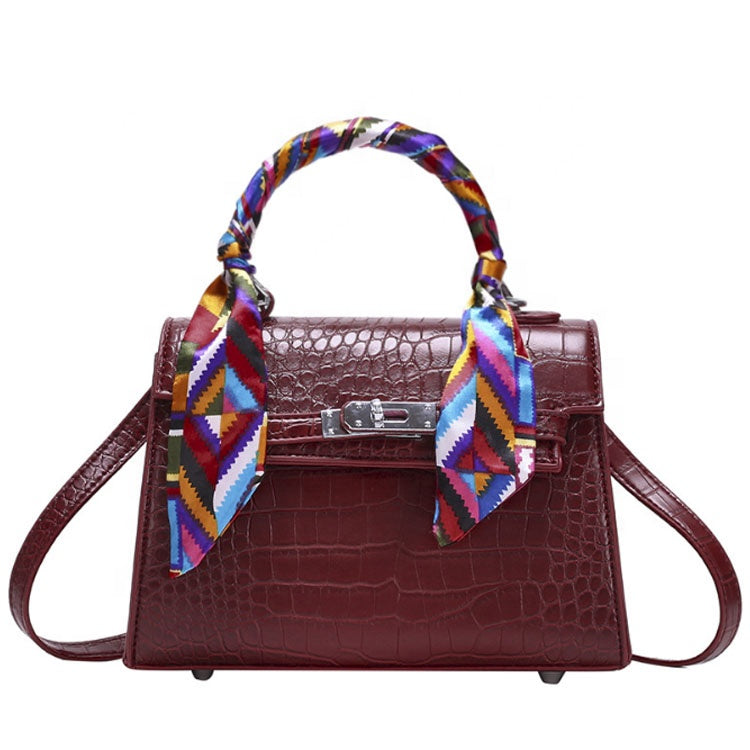 Burgundy Chloe Bag