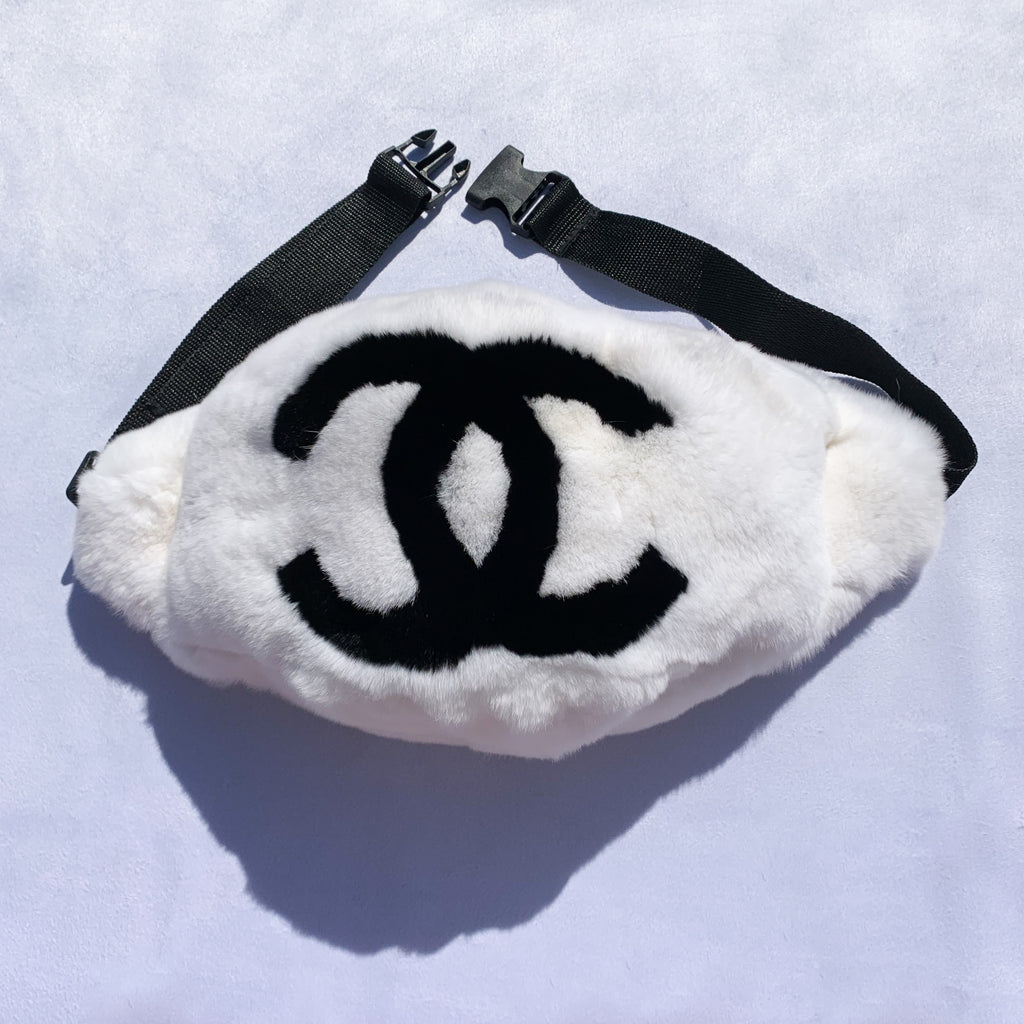 Fanny Bag - White and black