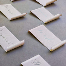 Load image into Gallery viewer, xuecalligraphy Place Cards Hand Written Place Cards