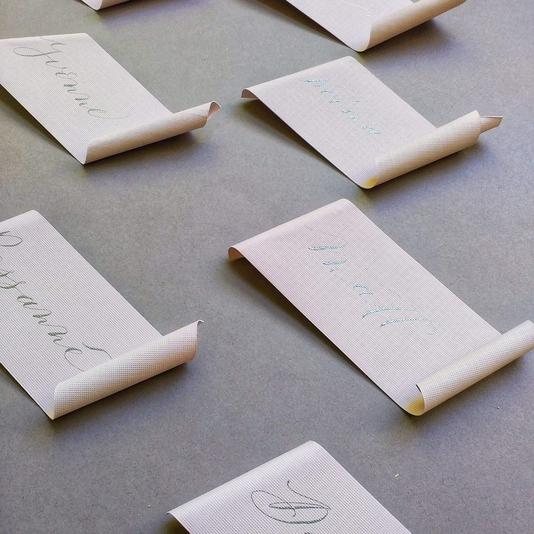 xuecalligraphy Place Cards Hand Written Place Cards