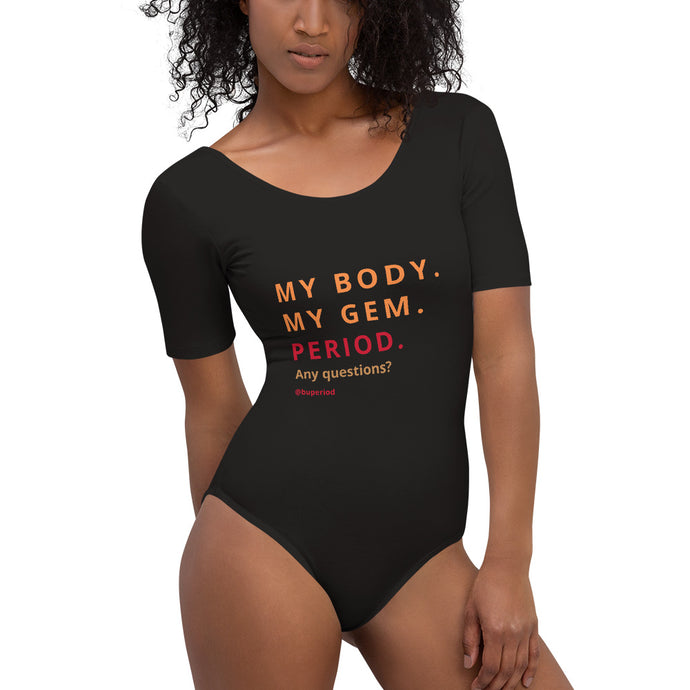 Short Sleeve Bodysuit - MY BODY. MY GEM.