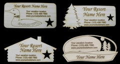 Wood Magnets - USA Sample Pack