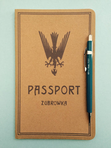 The Grand Budapest Hotel Moleskin Passport Notebook Large Size