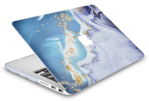 Macbook Case - Color Collection - Green Swirl with Matching Keyboard Cover, Screen Protector ,Sleeve ,USB Hub