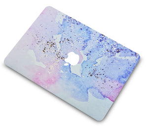 Macbook Case - Color Collection - Vibes with Matching Keyboard Cover ,Screen Protector ,Slim Sleeve ,Pouch