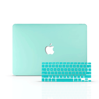 Macbook Case Bundle - Macbook Case with Keyboard Cover - Color Collection - Mint Green