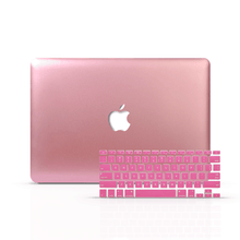 Load image into Gallery viewer, Macbook Case Bundle - Macbook Case and Keyboard Cover - Color Collection - Rose Gold
