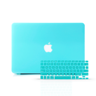 Macbook Case Bundle - Macbook Case with Keyboard Cover - Color Collection - Tiffany Blue