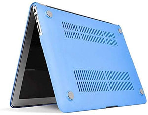 Macbook Case Bundle - Color Collection - Serenity Blue with Sleeve, Keyboard Cover and Screen Protector