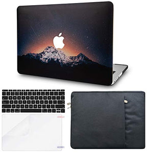 Macbook Case Bundle - Color Collection - Shooting Stars with Sleeve, Keyboard Cover and Screen Protector