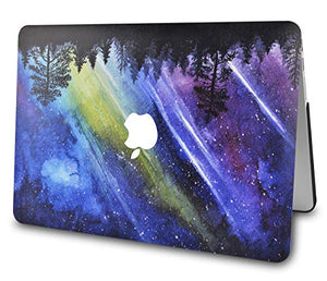 Macbook Case - Color Collection - Meteor shower with Matching Keyboard Cover ,Screen Protector ,Slim Sleeve ,Pouch