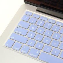Load image into Gallery viewer, Macbook US/CA Keyboard Cover - Color Collection - Serenity Blue